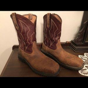 Ariat Men's Steel Toe Work Boots Size 13D